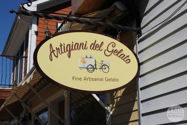 Gelato shop in Rhinebeck