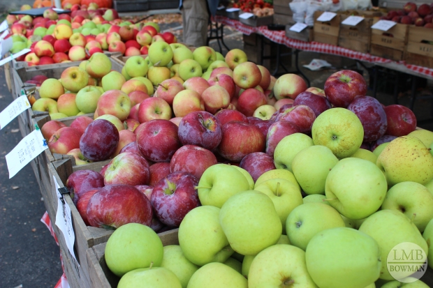There were hundreds of apple varieties to choose from between vendors
