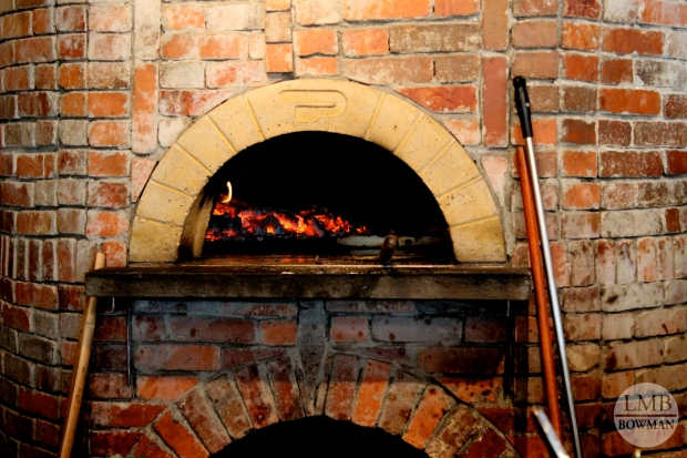 We found a little shop in Rhinebeck that makes wood oven pizzas.