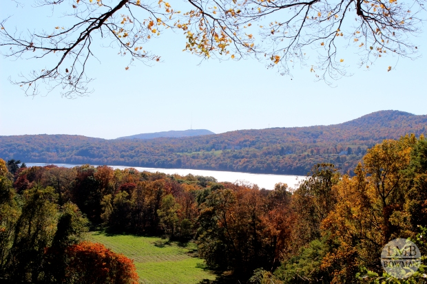 Overlooking the Hudson from the Vanderbilt property in Hyde Park....only about 5 minutes from the CIA campus