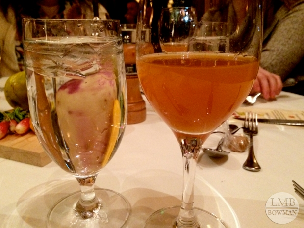 The second cider pairing was much sweeter than the first.  It was from Minard Farms.