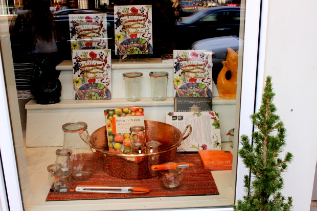 We ran into this store hosting a a book release for Foraging and Feasting: A Field Guide and Wild Food Cookbook by Dina Falconi Illustrated by Wnedy Hollender