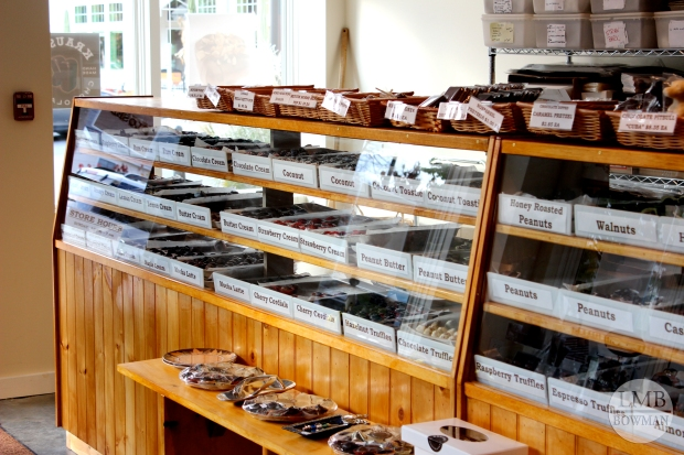 We found another chocolate shop. Krause's Chocolate Shop in Rhinebeck.