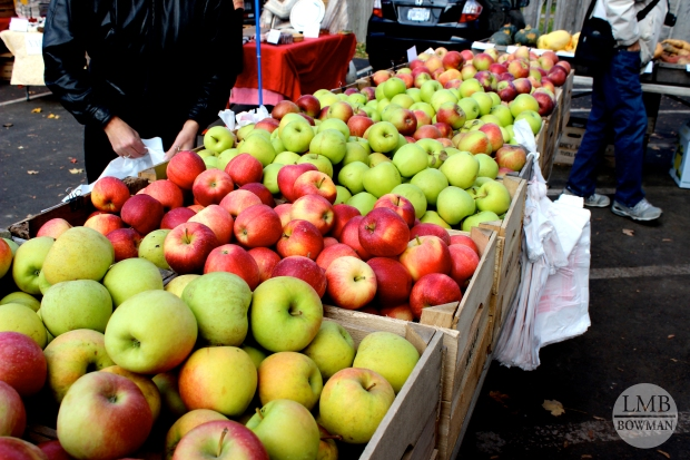 You can find any kind of apple you are looking for at this farmer's market.