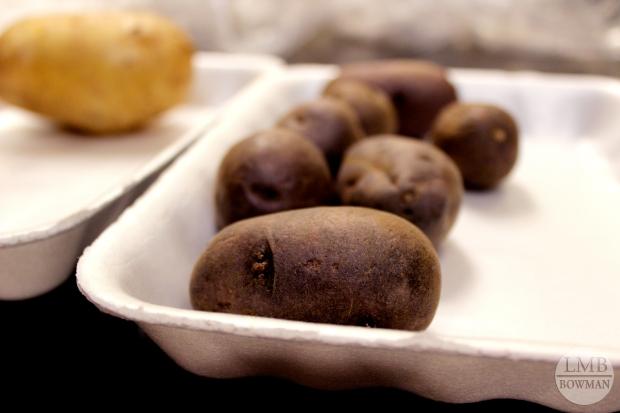 Peruvian purple potatoes