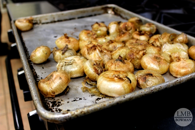 Roasted pearl onions