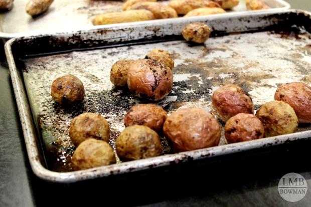 Roasted red skin potatoes