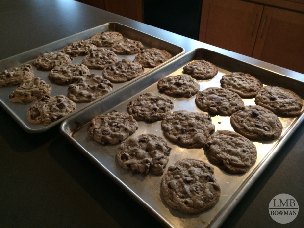 It is always fun to cook in my own kitchen at home.  Although I did not cook very much over break.  I did make some chocolate chip cookies and some of my family's favorite comfort foods.