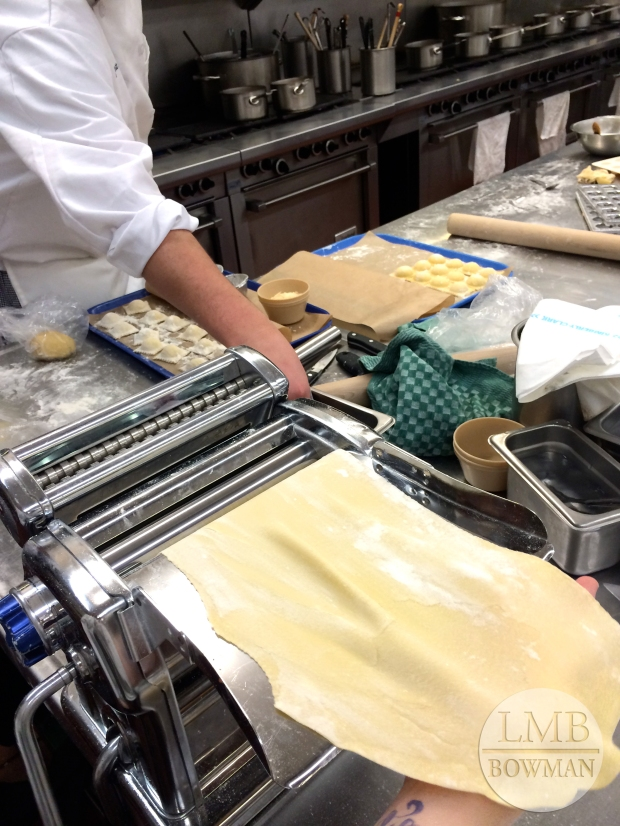 This was by far my favorite day of Fundamentals. My class had so much fun together making pasta.