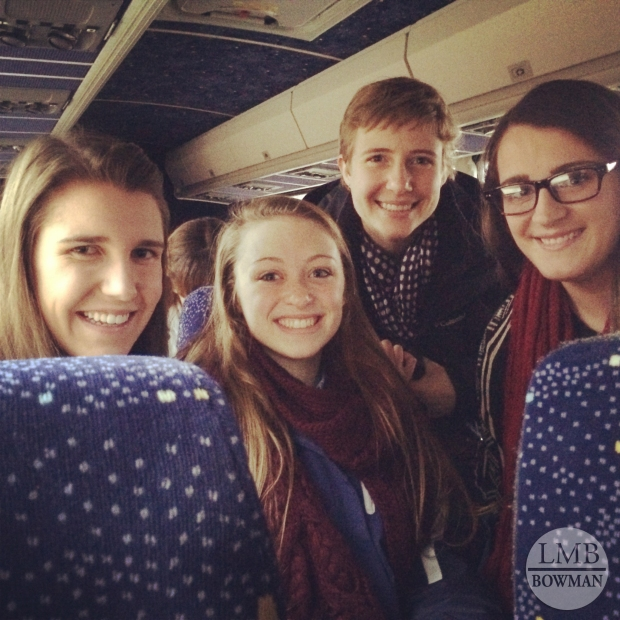 Sunday I took our school's bus trip into the city with some friends to see the Rockette's!