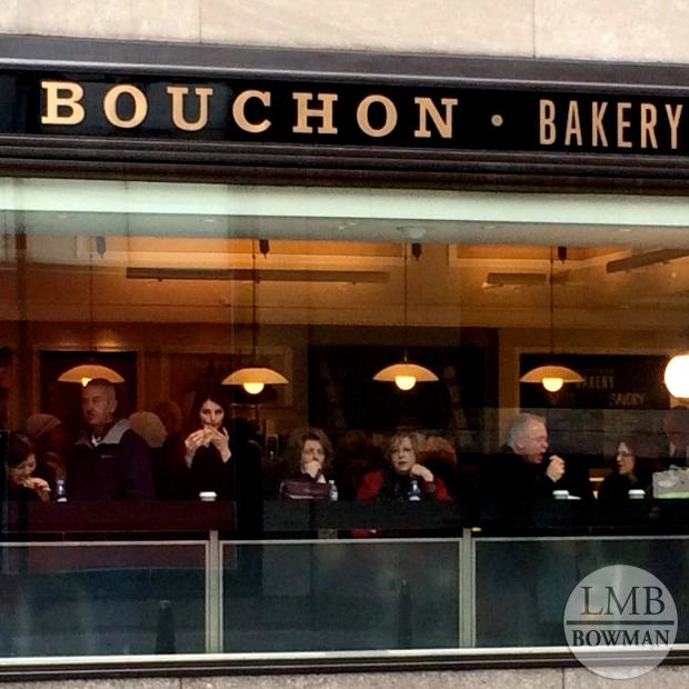 Bouchon bakery is located near Rockefeller Center.