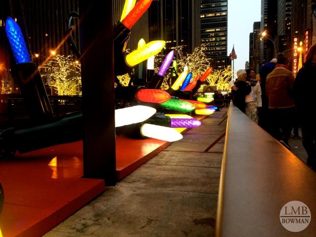 Lights in Rockefeller Center