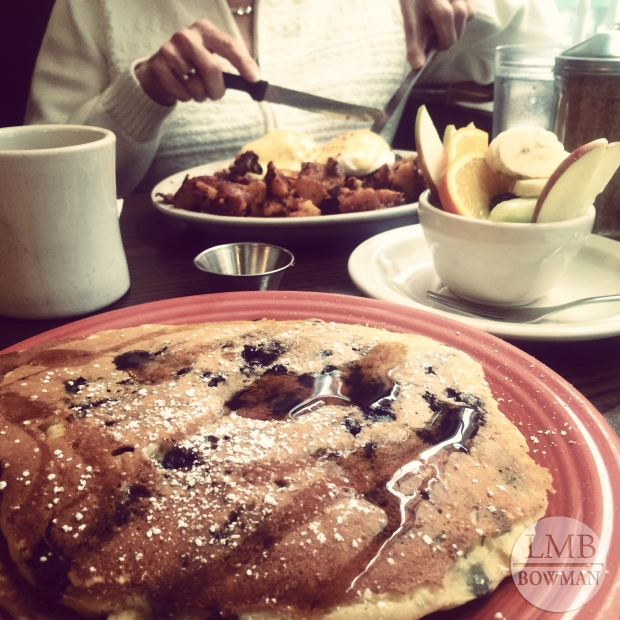 I rarely go out to breakfast but I had the opportunity to eat breakfast out a few times this break.