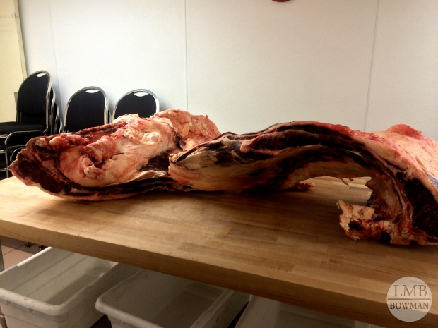 Breaking down beef loins and rib primals